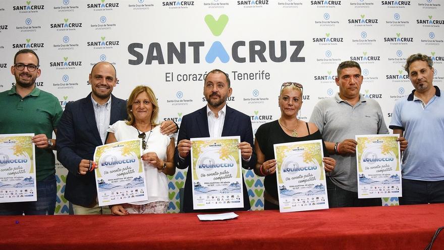 José Manuel Bermúdez, alcalde de Santa Cruz, en la presentación de la cita este lunes
