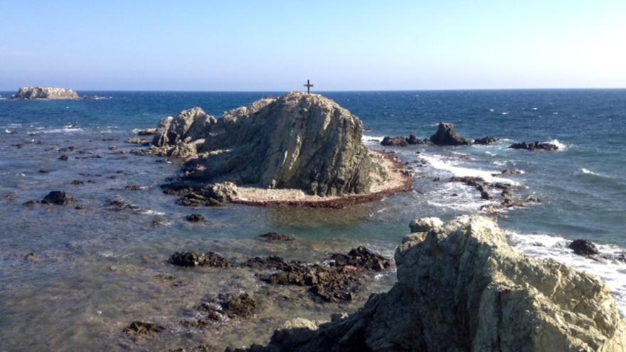 Punta Falcó e islote de la Nao