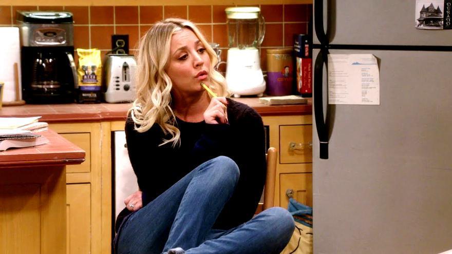 """Penny (Kaley Cuoco) en """"The Big Bang Theory"""""""