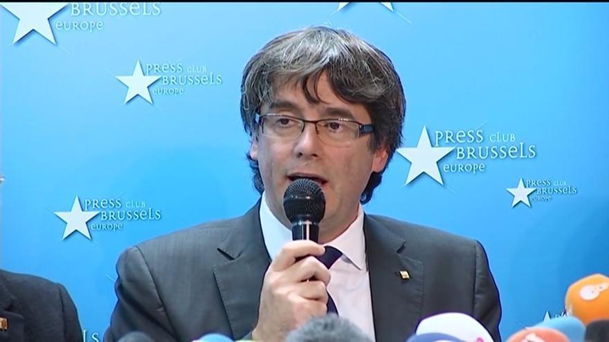 """El Gobierno catalán cesado activa una """"estructura estable"""" para coordinarse desde Bruselas"""