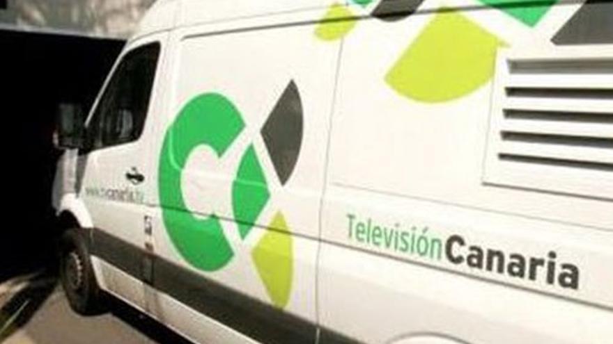 Unidad móvil de RTVC. (CA)