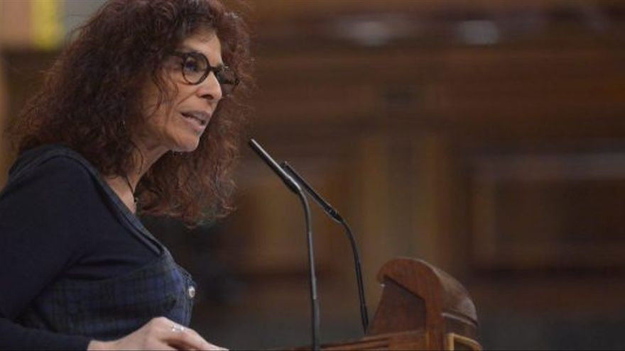 Rosana Alonso, diputada de Unidos Podemos por Cantabria.