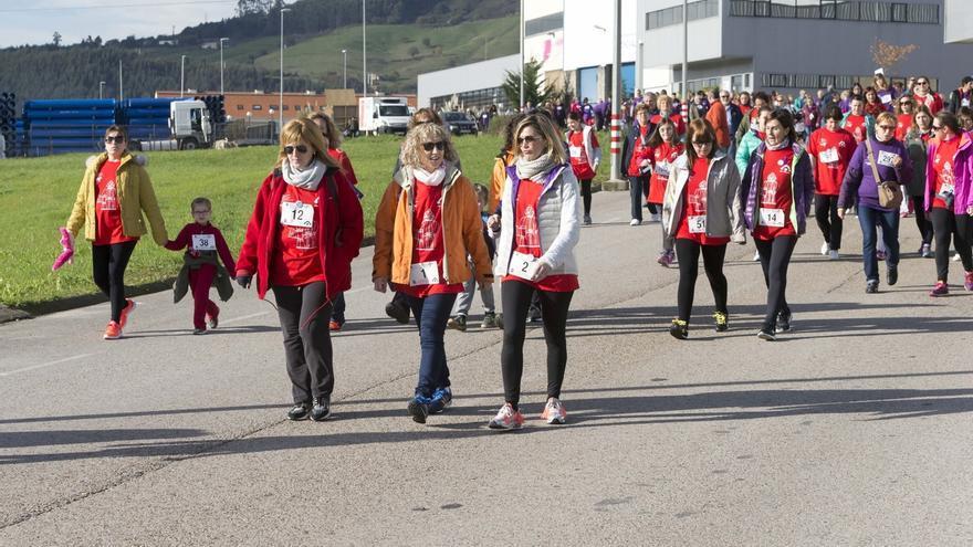 Piélagos celebra su segunda marcha popular contra la violencia de género
