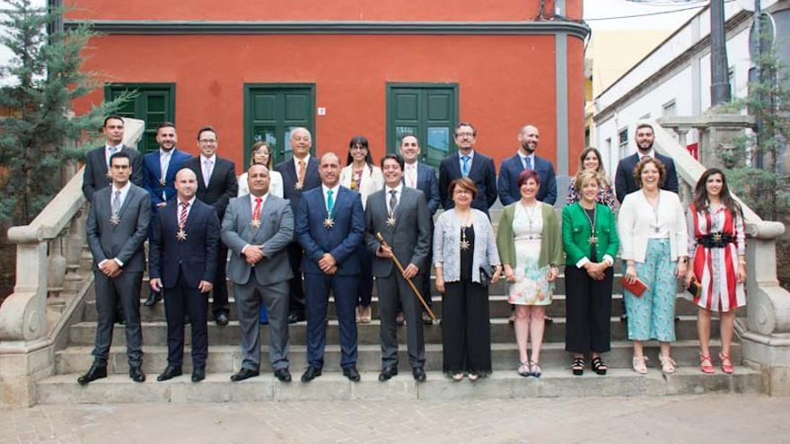La nueva Corporación local del municipio del sur de Tenerife, de Guía de Isora