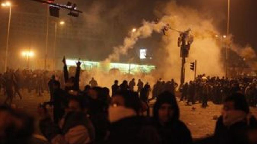 Manifestaciones en Egipto. (EUROPA PRESS)