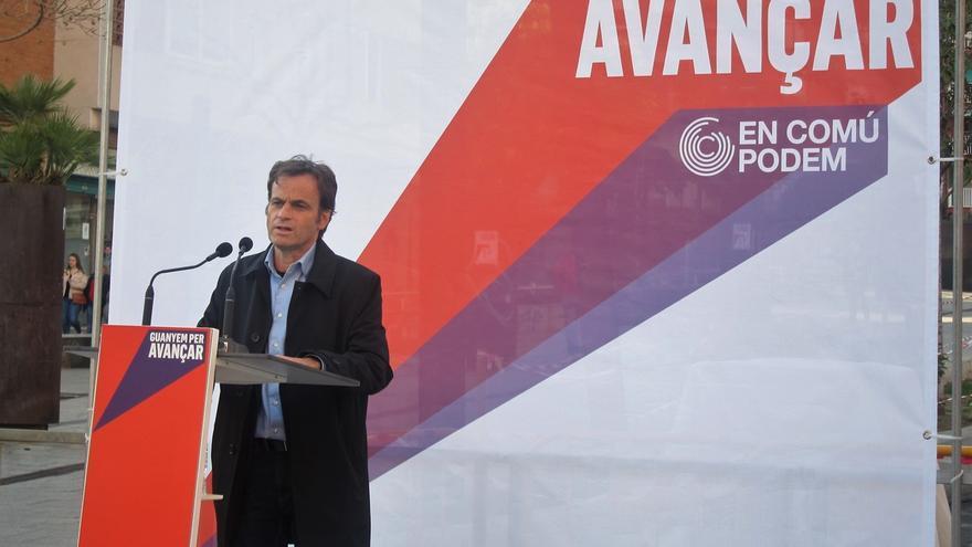 """Asens dice que PP y Cs """"cada vez están actuando más como extrema derecha"""" en la campaña"""