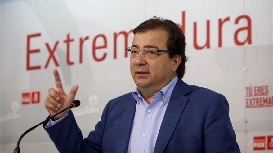 Podemos dará su apoyo a la investidura de Vara como presidente de Extremadura