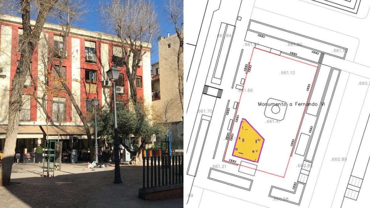 Obras en la Plazuela de la Memoria Trans y la Plaza de la Villa de París   SOMOS CHUECA Y AYUNTAMIENTO DE MADRID