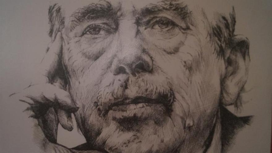 El mundo de la caricatura rinde honores a Vaclav Havel