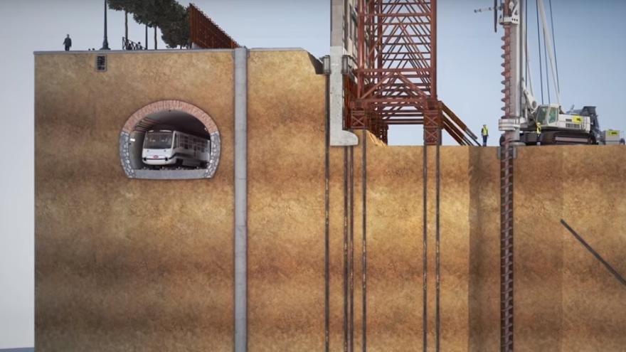 Captura de un vídeo de OHL que explica el plan de obras. / OHL