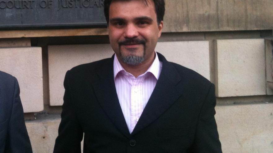 El abogado y activista José Cosín, detenido el 25S.