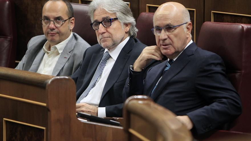 """Campuzano (CDC) defiende mantener las reuniones del grupo CiU en el Congreso y pide no """"añadir más dolor"""""""
