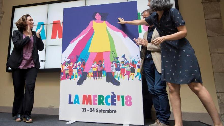 Leticia Dolera será la pregonera de una Mercè con cartel de Sònia Pulido