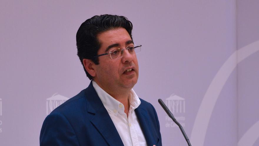 Pedro Martín, secretario general del PSOE tinerfeño, en una imagen de archivo