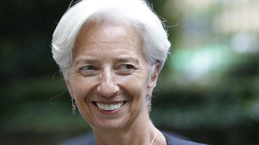 """Lagarde dice a Grecia que no hay """"periodo gracia"""" e insiste en la reforma de las pensiones"""