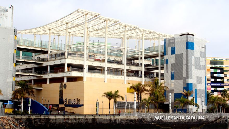 Centro comercial El Muelle en Las Palmas de Gran Canaria