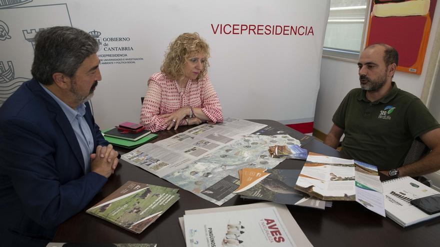 """Gobierno y SEO/BirdLife destacan el """"rotundo éxito"""" del proyecto de conservación ecológica en Alto Campoo"""