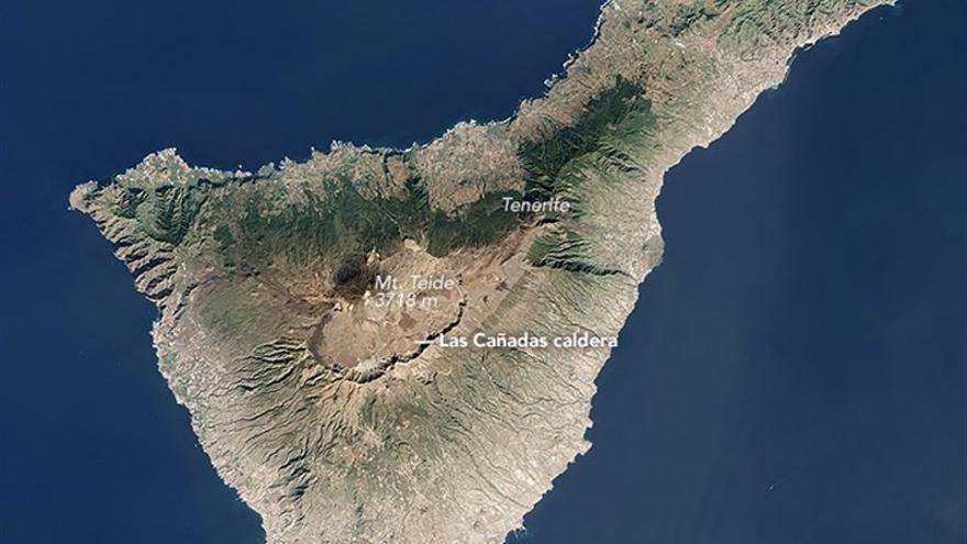 Imagen de Tenerife seleccionada como 'Foto del día' por la NASA