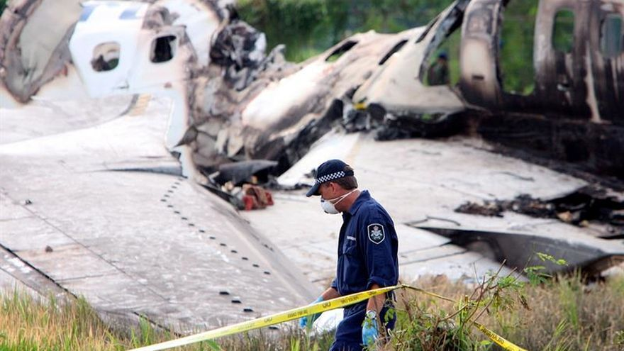Encuentran avión desaparecido hace 5 días en Colombia con tripulantes muertos