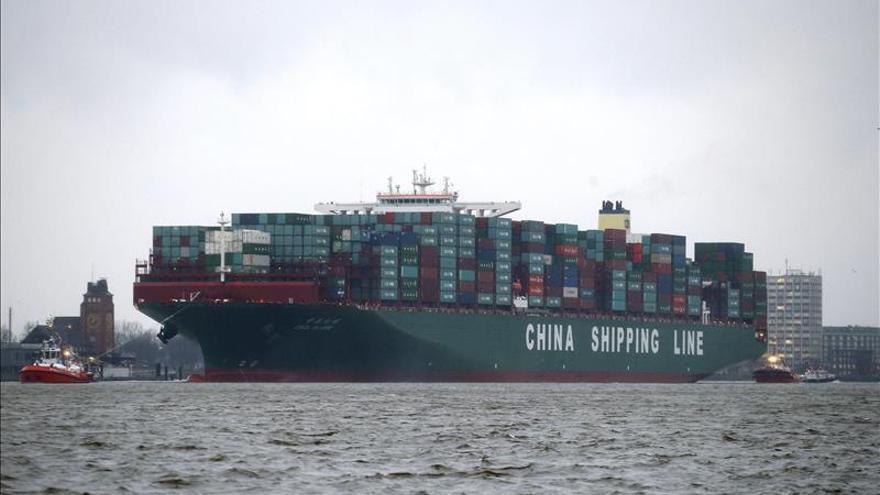Las exportaciones alemanas suben un 1,2 % en marzo y un 12,4 % interanual