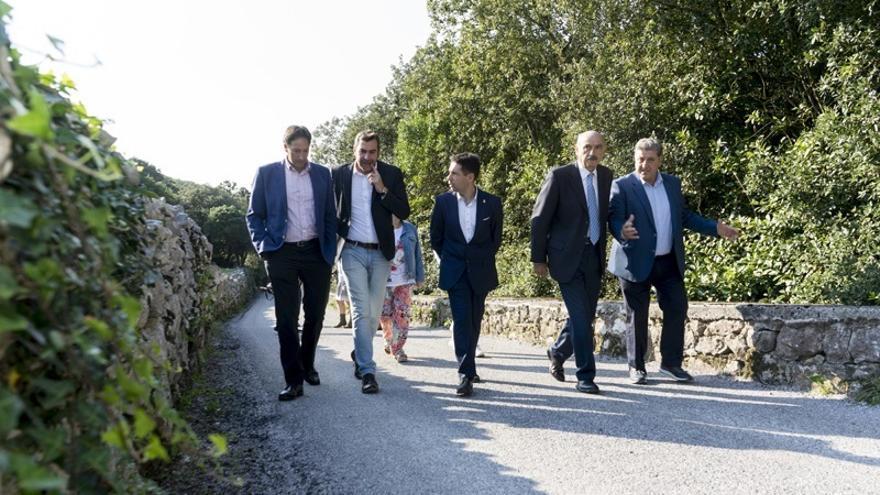 Inaugurado el acceso al fuerte de El Mazo tras una inversión del Gobierno de más de 42.000 euros