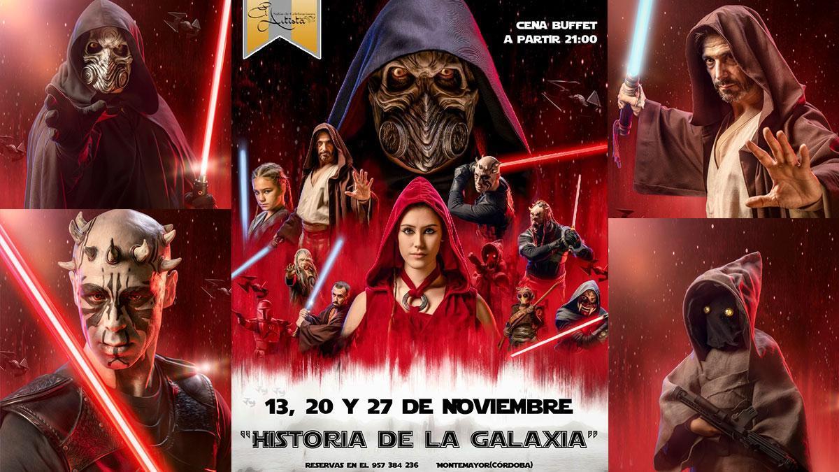 'Historia de la galaxia' en El Artista de Montemayor