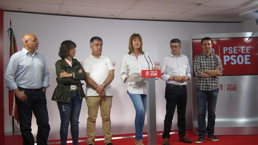 """PSE, satisfecho con sus resultados, que muestran """"su fortaleza"""" en Euskadi y """"desmienten los negros augurios"""""""