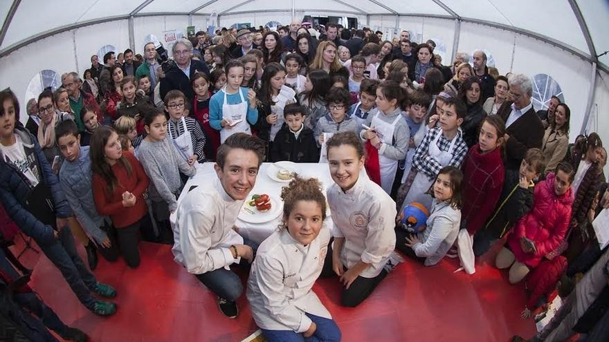 El 'desafío Masterchef Junior' inaugura Cocinart