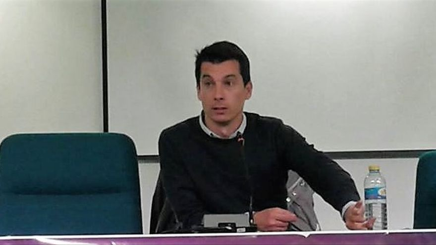Luis Gonzalo Segura, en uno de los actos que ha protagonizado.