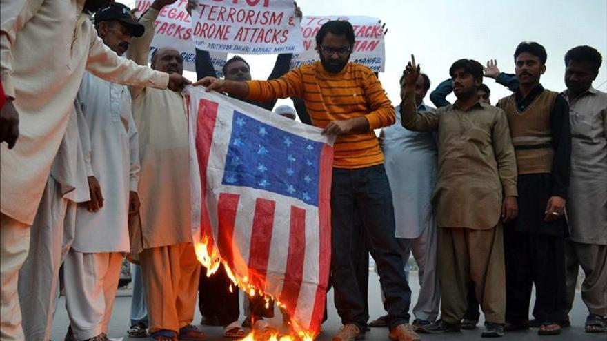 Mueren tres personas en un bombardeo con un avión espía de EEUU en Pakistán