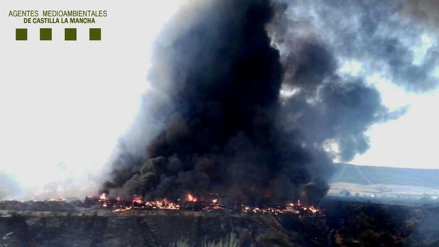 Convocan una manifestación el 15 de octubre en Guadalajara para pedir responsabilidades por los incendios en Chiloeches