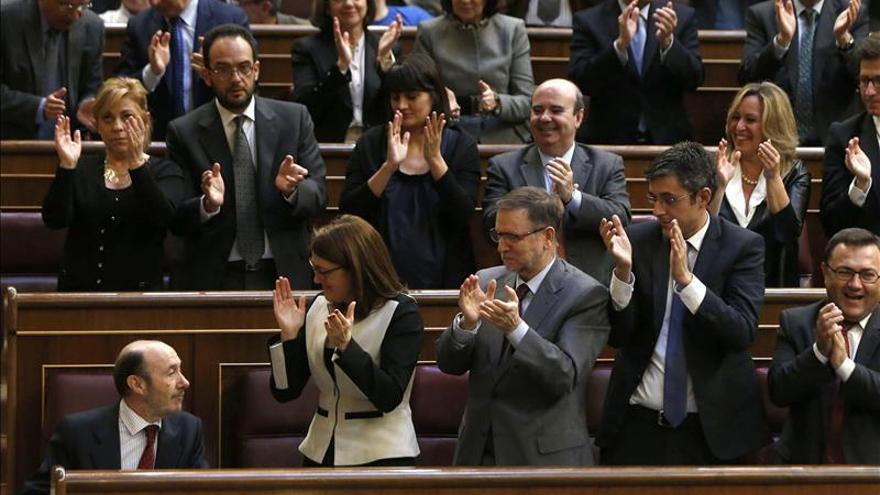 Rubalcaba afea a Rajoy su inacción con Cataluña e insiste en el diálogo