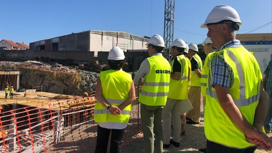 """Avanzan """"en plazo"""" las obras de las 120 viviendas asequibles de San Román y se entregarán a finales de 2020"""