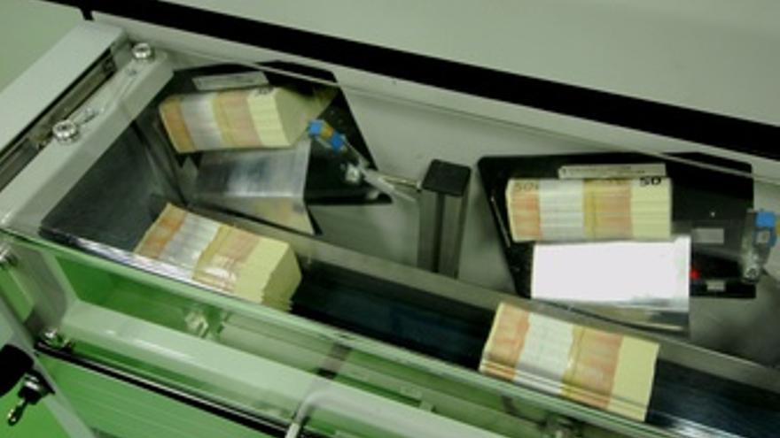 Fabricación De Billetes De Euros En La Fábrica Nacional De Moneda Y Timbre