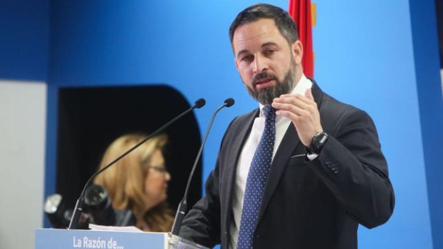 "Abascal (VOX) tacha de ""etnicista"" la política de fichajes del Athletic"