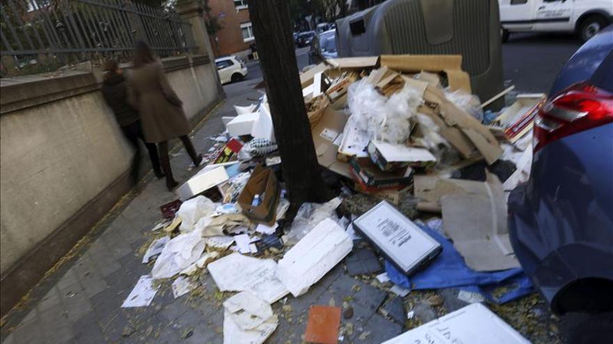 Tragsa limpiará Madrid si recibe una orden de la Administración