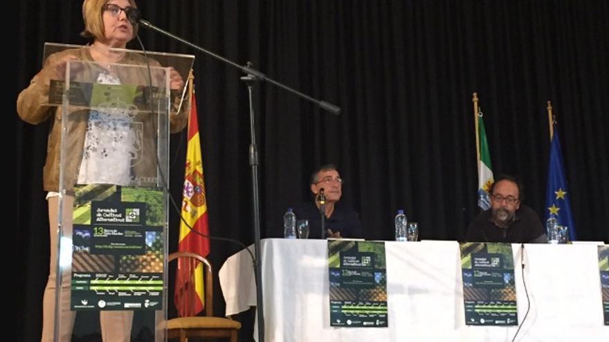 Rosario Cordero inaugura la Jornada de Cultivos Alternativos