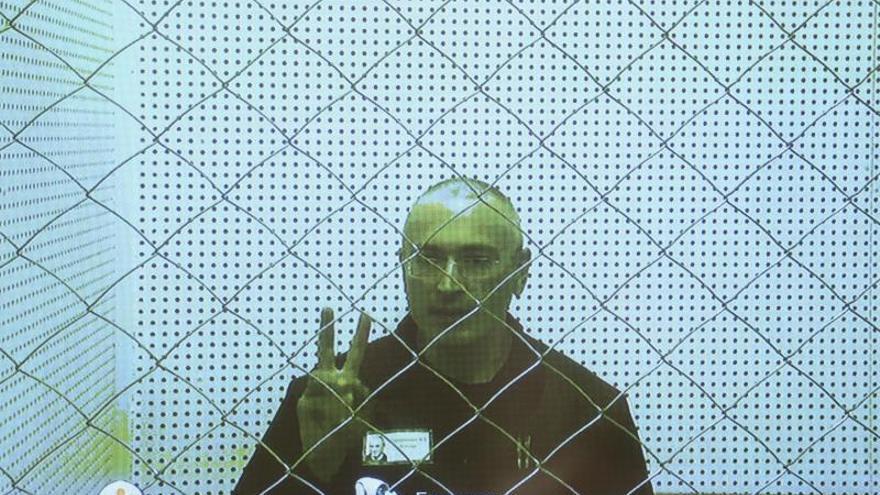 El Supremo ruso ordena la puesta en libertad de Lébedev, socio de Jodorkovski