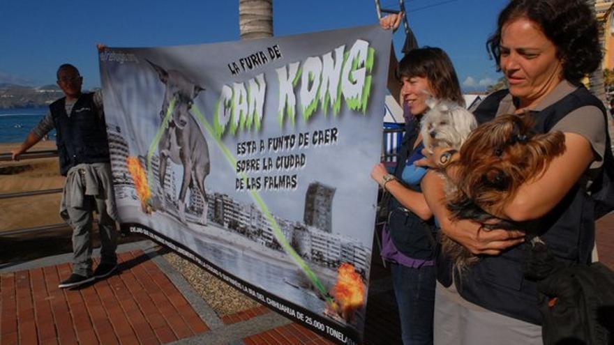 De la protesta en Las Canteras #1