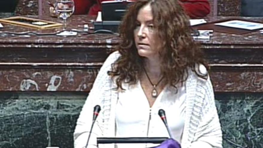 Mª Ángeles García Navarro ha defendido la restitución del Instituto de la Mujer de la Región de Murcia