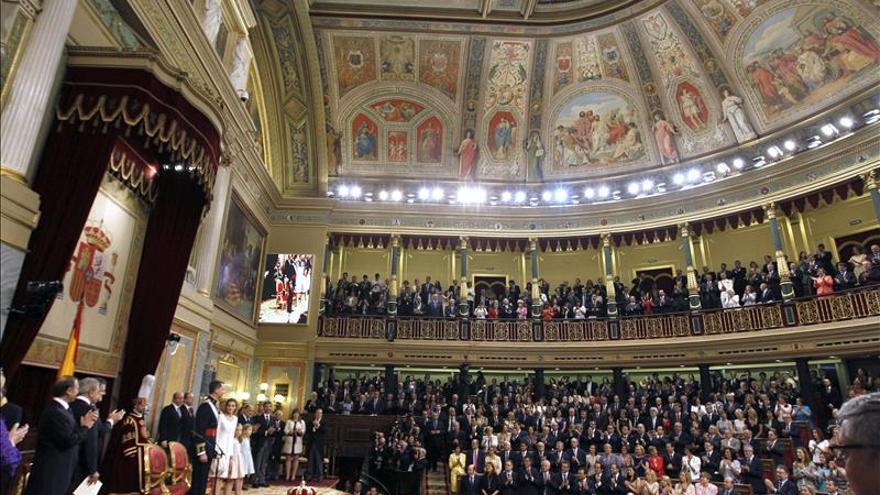 La proclamación de Felipe VI en el Congreso costó 132.000 euros