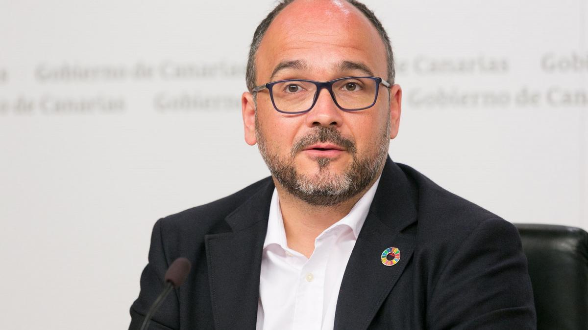 José Antonio Valbuena, consejero canario de Transición Ecológica
