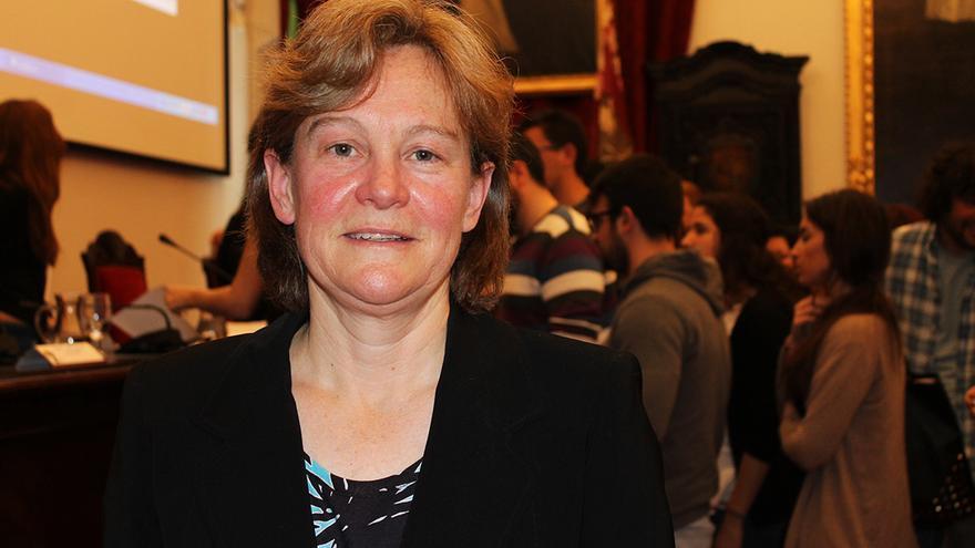 Lisa Cuklanz, profesora del Boston College. / JUAN MIGUEL BAQUERO