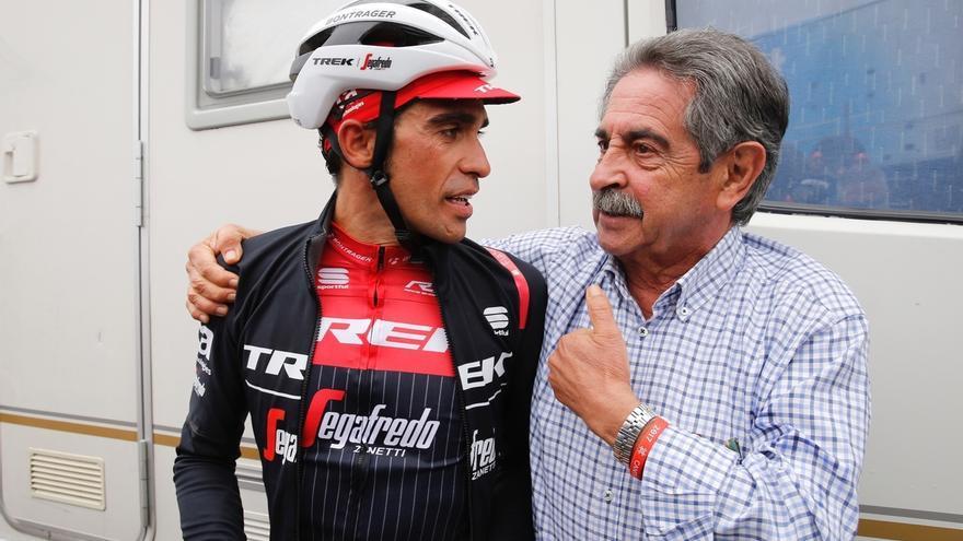 """Revilla asegura que Los Machucos entran en la historia del ciclismo como una de las etapas """"más épicas"""" de La Vuelta"""