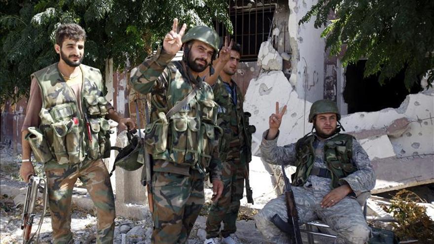 El Ejército sirio dice haber matado a 50 rebeldes en una emboscada cerca de Damasco