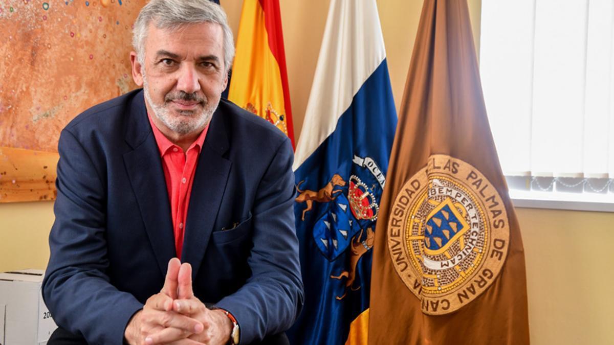 Lluis Serra, rector de la Universidad de Las Palmas de Gran Canaria.