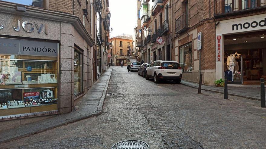 Zona comercial en el Casco Histórico de Toledo