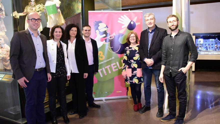 Presentación de la 33ª Mostra Internacional de Titelles de la Vall d'Albaida