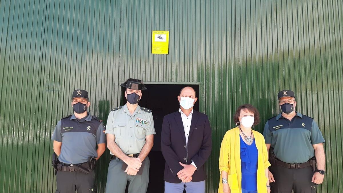 Reunión de las autoridades en Montalbán.