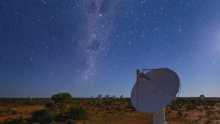 Científicos australianos crean un mapa de 3 millones de galaxias en 300 horas